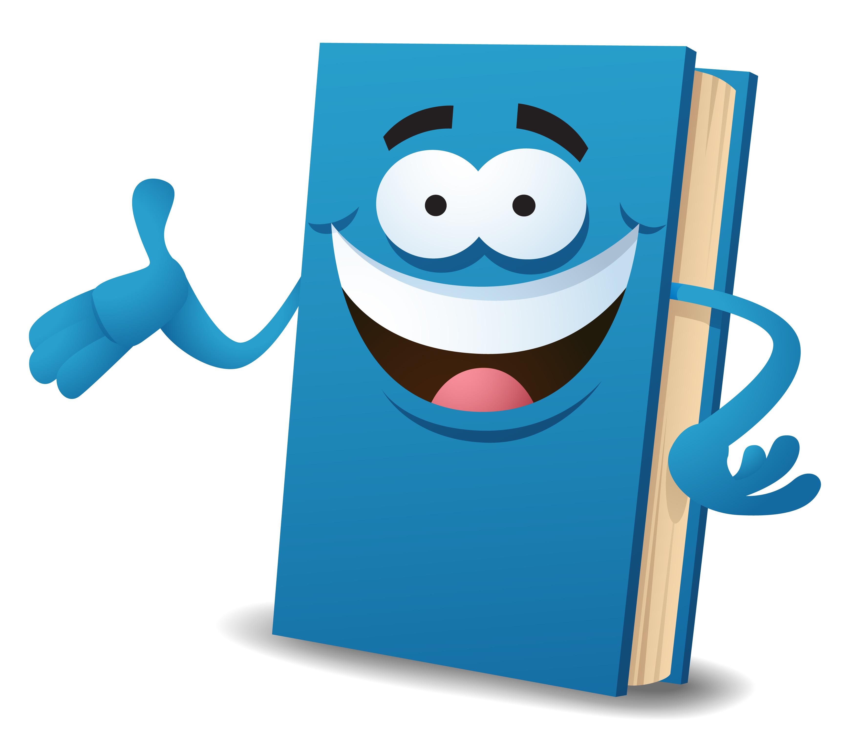 Веселые книги картинка
