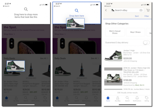 Drag And Drop Search A New Way To Search On Ebay