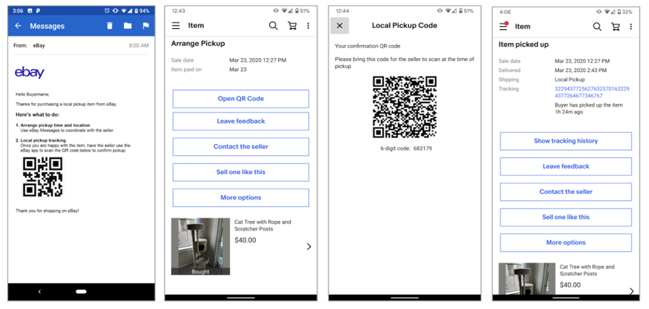 Ebay Launches Secure Local Pickup To Simplify The Shipping Experience
